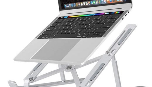 どうしてMacBook用スタンドが人気なのか分かった気がする。DODOLIVE ノートPC アルミ素材性 折りたたみスタンド レビュー
