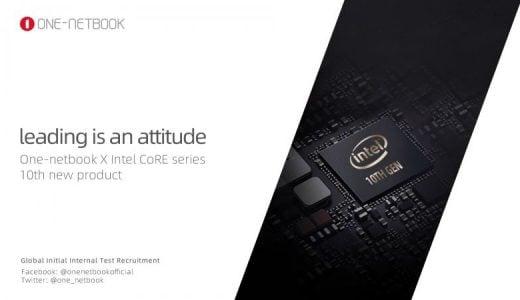 ONE-NETBOOK社から謎のティーザー告知画像が登場!? 第10世代Intel CoRE CPU搭載のOnemixデバイスの登場が近い?