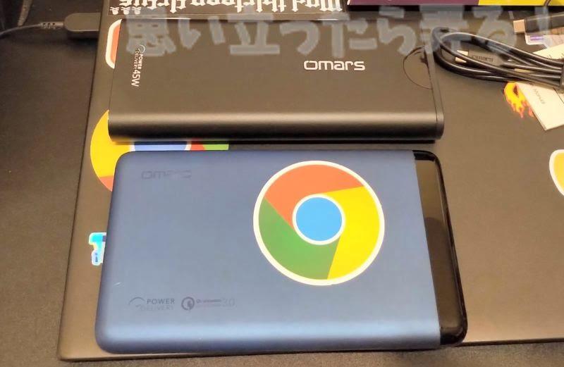 Omars 20000mAhモバイルバッテリーの旧世代版と比較