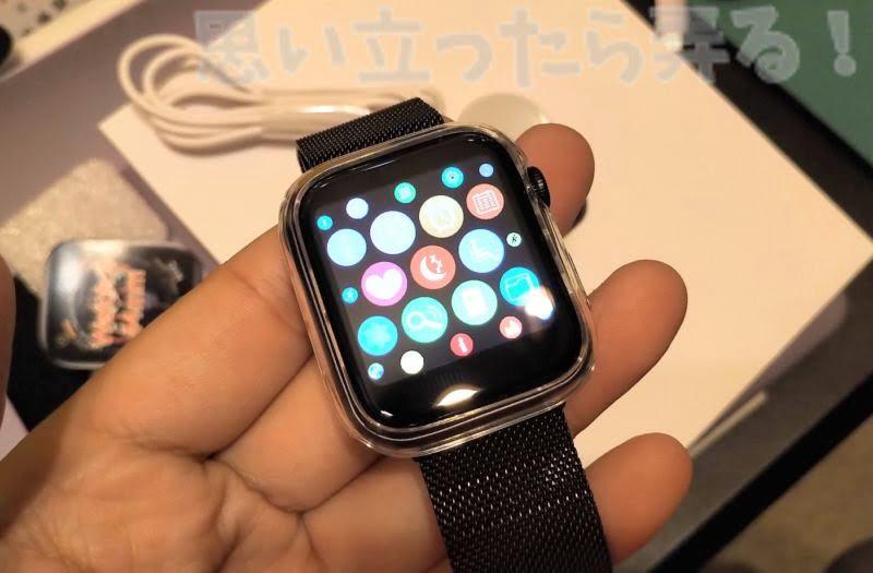 パチモノApple Watchとは思えないスムーズな操作感