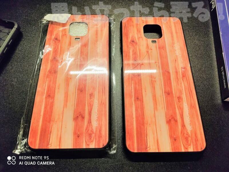 Xiaomi Redmi note 9s専用ケースを購入したらガラスにヒビが入っていた