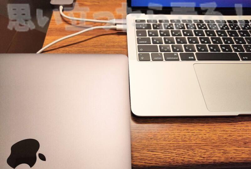 M1 MacBook AirのシルバーとMacBook Proのスペースグレーを比較してみる